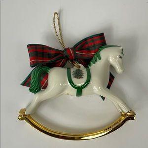 Spode Christmas ornament rocking horse